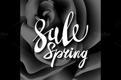 black roses. vector spring sale by Rommeo79 on @creativemarket