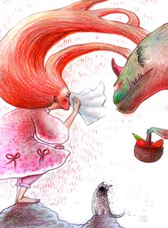 Princess Helene. Illustrations. on Behance