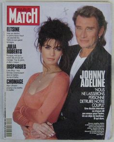 Johnny Hallyday Revue Paris Match N° 2196 Juin 1991