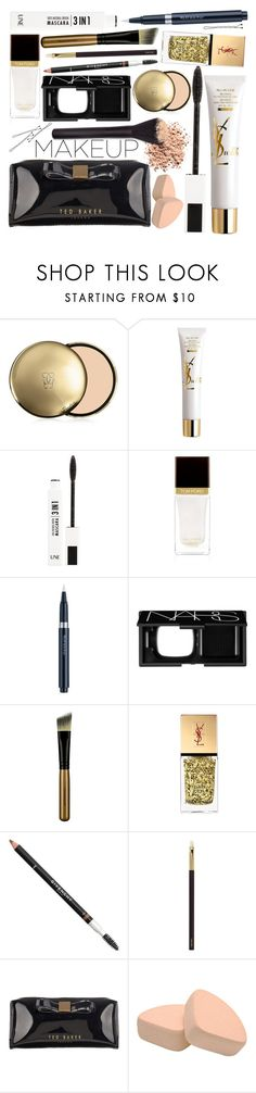 """beauty routine"" by ladysnape ❤ liked on Polyvore featuring beauty, Guerlain, Yves Saint Laurent, Une, Tom Ford, shu uemura, BOBBY, NARS Cosmetics, Japonesque and Givenchy"