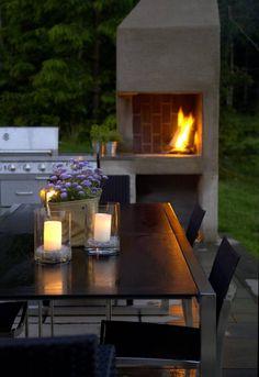Inspirasjonsguiden - Inspirasjonsguiden Outdoor Fire, Outdoor Decor, Garden, Home Decor, Garten, Decoration Home, Room Decor, Lawn And Garden, Gardens