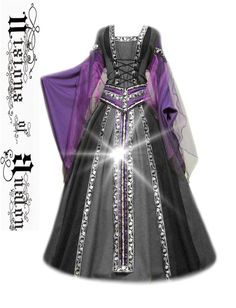 Medieval Dress Costume Halloween Garb Renaissance LARP Celtic Tudor Fantasy | eBay