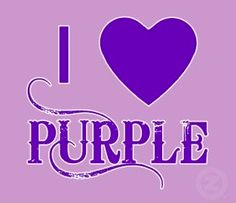 EVERYONE KNOWS I LOVE PURPLE and I have noticed so do many of you. I have a list of about 40 fans of purple. Looking for interesting idea to do on my page for purple lovers. Please comment with your ideas (I know you have them ( and give some info, not just :a contest. It would be-a contest that does or shows or you chose, etc. I really want to reach ALL of you so get those juices flowing.