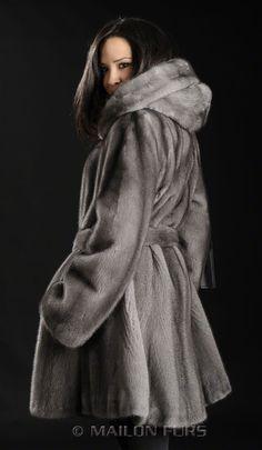 blue iris coat