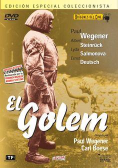 El golem (1920) Alemaña. Dir: Paul Wegener. Terror. Expresionismo alemán - DVD CINE 103