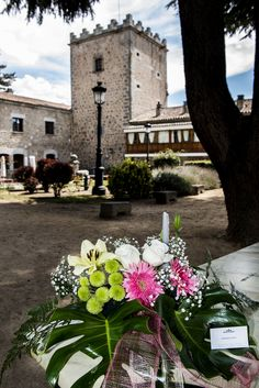 #bodas #ideales en el #Parador de #Ávila #exterior #decoración #wedding #love