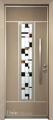 d9768-hitech-vitraj-gold-door   -   סדרת הייטק ויטראז' - חלון עובר  דלת יוקרתית שמשלבת חיפוי יוקרתי מאלומיניום צבוע בצבע זהב מעושן בשילוב ויטראז' אומנותי במרכז