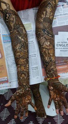 Mehndi Designs Bridal Hands, Wedding Mehndi Designs, Mehndi Designs For Fingers, Dulhan Mehndi Designs, Latest Mehndi Designs, Henna Mehndi, Henna Designs, Mehendi, Mehendhi Designs