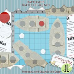 BATTLESHIP Battle of Agency... this would be great as part of an FHE lesson with kiddos!
