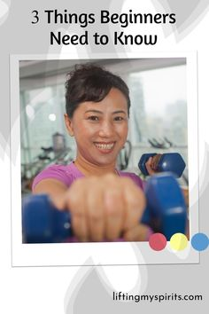 """Search for """"strength training for women"""" and you'll get overwhelmed with info quickly! Don't over think it! Here's what beginners need to focus on when they want to start lifting weights. #weighttraining #strengthtraining #newlifter #fitover40 #fitover50 Weight Training, Weight Lifting, Weight Loss Tips, Fit Over 40, To Focus, Lose Fat, Strength Training, Weights, Need To Know"""