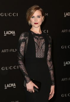 Evan Rachel Wood routinely slays public appearances in everything from sultry sheer gowns to sharply tailored suits, and has been outspoken both about her own sexuality as well as Hollywood's inadequate portrayal of women's sexual agency.