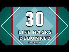 """More like Lie Hacks. In the latest episode of Mental Floss, Life Hacks Debunked,"""" host John Green tests out common Life Hacks to find out John Green, Uber Humor, Amazing Life Hacks, Internet, The More You Know, Cool Names, Trivia, Cleaning Hacks, Cleaning Supplies"""