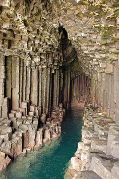 Fingal's Cave, Staffa, Southern Hebrides, Scotland