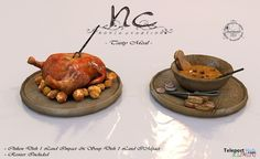 Tasty Meal Medieval Fantasy Hunt XV Hunt Gift by Noble Creations