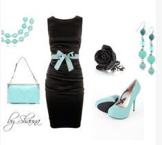 Cute women's outfit dress