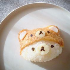 코리락쿠마 유부초밥
