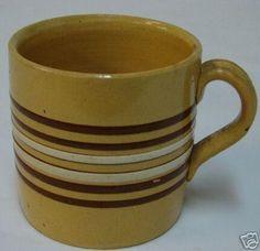 Antique Stoneware, Earthenware, Vintage Dishes, Vintage Kitchen, Yellow Bowls, Sgraffito, Primitive Decor, Vintage Pottery, Hudson Valley