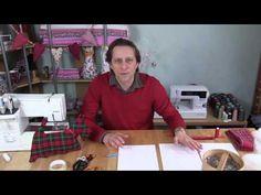sewing crafts--->Christmas scotty dog cushion