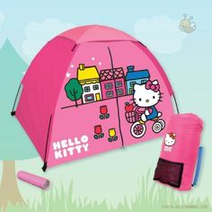 Hello Kitty camping gear!