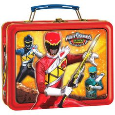 Power Rangers Dino Charge™ Metal Box - Tittles & Bits