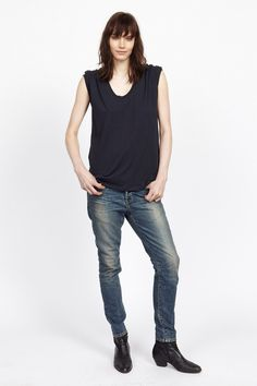 6397, Resort 2015 // Stella Ishii -- and yep, that's about it. Really expensive denims & tanks