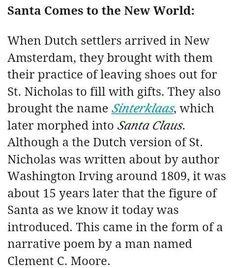 Santa Clause New Amsterdam, Early Christian, Pagan, Psychology, Religion, Santa Clause, Names, Learning, Worship