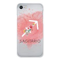 Case transparente Roses Of Zodiac | Signo de Sagitário de @cafecomastrologia |     #Iphone #astrologia #signos #rosas #flores