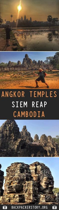 The Angkor Temples can be found throughout Cambodia, however the main hub are located just outside of Siem Reap. How to get to Angkor Wat Travel And Tourism, Asia Travel, Travel Destinations, Angkor Wat Cambodia, Travel Guides, Travel Tips, Go Outdoors, Siem Reap, Vietnam