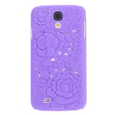 Artistic Unique Flower Roses Pattern Hard Case Cover for Samsung Galaxy S4 SIV i9500