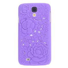 EUR € 6.43 - Rozen Relief Pattern Hard Case voor Samsung Galaxy I9500 S4 (verschillende kleuren), Gratis Verzending voor alle Gadgets!