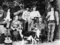 Crosby, Stills, Nash & Young 'Deja Vu' album, photo shoot before Woodstock - photo by Tom O'Neal