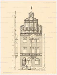 Aufriss, Vertikalschnitt and Aufbewahrung/Standort: