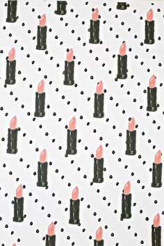 DIY: Free Printable Lipstick Wrapping Paper
