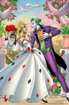 Harley and Joker I SHALL SHIP IT <3