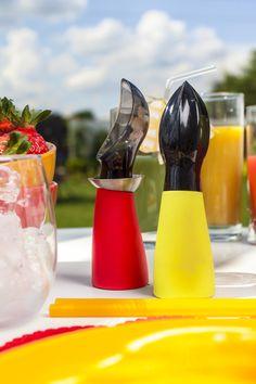 Akcesoria do lodów i deserów z kolekcji FUSION FRESH od marki AMBITION wspierały nas podczas przygotowywania deserów i drinków.