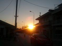 Sunset in limenaria