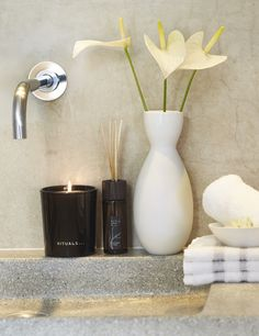 Rituals scented candle & fragrance sticks