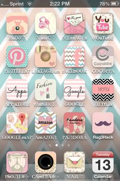 CoCoppa! Dec out your iphone with this app without jailbreak! luv it♥