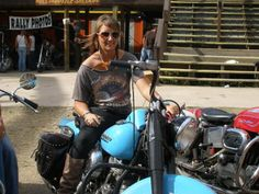 Julie Graff, of Boulder,  has been riding motorcycles since she was a youngster.