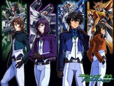 Mobile Suit Gundam 00-WATCHED!!! Review: Although I didn't expect much going in, I have to confess that I loved this series, particularly the latter half of season 1.