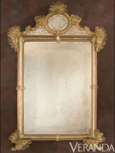 Decorative Crafts Venetian Mirror