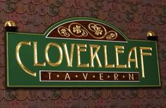 Cloverleaf Tavern Pub Sign | Danthonia Designs