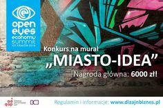 """Konkurs na mural """"Miasto-Idea"""" 2016"""