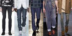 Какие модны в этом сезоне мужские джинсы