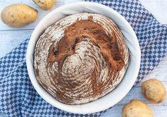 Omas Kartoffelbrot zum #wbd2018 Bread N Butter, Hummus, Peanut Butter, Food Porn, Brunch, Food And Drink, Baking, Breakfast, Ethnic Recipes