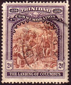 Trinidad 1898 Discovery of Trinidad Fine Used SG 125  Scott 91  Other Trinidad Stamps HERE