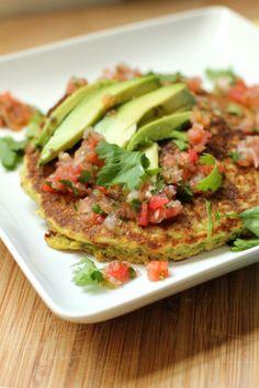 cilantro pepper corncakes