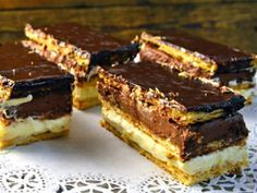 Mexican Food Recipes, Sweet Recipes, Cookie Recipes, Dessert Recipes, Hungarian Desserts, Hungarian Recipes, Torte Cake, Cake Bars, Sweet Dough