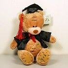 For Sale - Me to You Carte Blanche Teddy Bear Plush Graduation Brown 17cm 6.75""