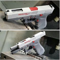 Love It :) #gaming #videogames #retrogaming #nintendo #gamersunite #NES Glock - Precision Syndicate LLC